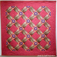 Quilt Inspiration: Best of Utah: The 44th annual Springville Quilt Show (2)