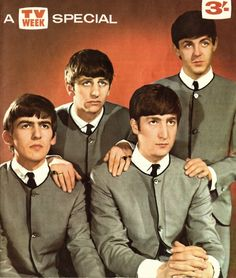 TV Week special cover. The Beatles
