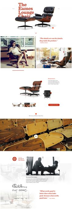 Eames Lounge Chair by Russ Pate