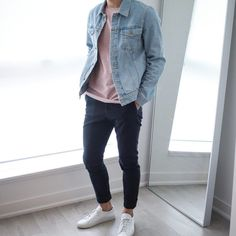 Perfect Minimalist Outfit for Men 42 Perfect Minimalist Outfit for Men Stylish Men, Men Casual, Stylish Clothes, Mode Man, Herren Outfit, Denim Fashion, Style Fashion, Fashion Sale, Fashion Outlet