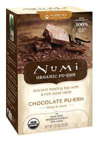 Vitamin Shoppe and Green for Green Sweepstakes  Numi Tea (More from Numi Tea)  Numi Tea Chocolate Puerh Tea