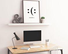 Plakát do kanceláře Floating Shelves, Home Decor, Decoration Home, Room Decor, Wall Shelves, Home Interior Design, Home Decoration, Interior Design