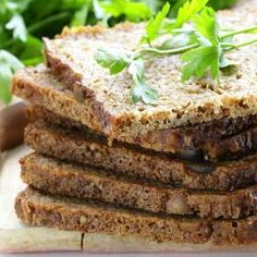 Some of you may be surprised to know that the Ezekiel bread is prepared without using flour. This popular bread, whose origin is from the biblical tale of Ezekiel, is nutritious and easy to make. Read on to find out how to make the bread with different tw Recipes With Ezekiel Bread, Bread Recipes, Cooking Recipes, Bible Bread Recipe, Bread Machine Recipes Healthy, Ezekial Bread, Sprouted Grain Bread, Gluten Free Whole Grain Bread Recipe, Vegetarian