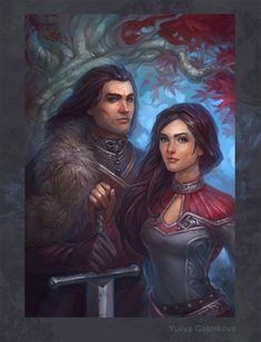 Eddard  and Lyanna