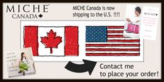 MICHE Canada is now shipping to the U.S. !!!! Share your Miche love and reach out to your friends and relatives south of the border. Drop Ship flat rate - $20.00 Canadian! To order: www.homepartyrep.com/lucie_levasseur. All orders are in Canadian dollars and will be converted to USD funds on their cc statements. Canadian Dollar, South Of The Border, Flat Rate, Canada, Ship, Friends, Bags, Fashion, Purses