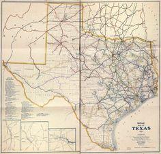 1926 Railroad Map