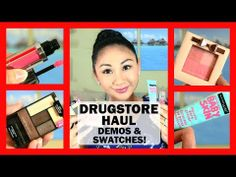 ▶ NEW! Drugstore Makeup Haul & Review: WetnWild, Physicians Formula, Maybelline, Milani! - YouTube