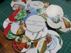 Christmas card circles