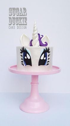 Rarity - My Little Pony - Cake by Sugar Duckie (Maria McDonald)