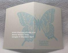 stampin up swallowtail | Sneak Peek - An Embossed Swallowtail - Stampin Up! Independent ...