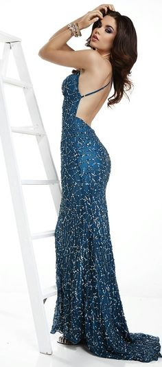 Evening DressPageant Dress by SCALA 47521All That Glitters!