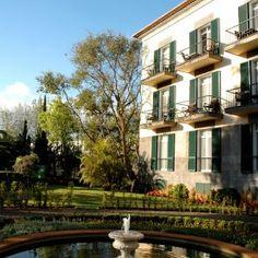 Quinta da Bela Vista, Funchal, Madeira - LIFESTYLEHOTELS Marble Bathtub, Heart Of Europe, Hotel Website, Open Fireplace, Funchal, Lush Garden, Exotic Plants, Pent House, Cool Rooms