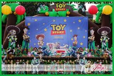 Toy Story birthday party theme ideas in Lahore Pakistan #ToyStory #Partyideas #themedparties #Decoration #Balloons Invitations and kids Entertainment Services Design by: Tulips Creative Team   www.thematicbirthdayplanner.com