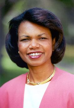 I wish I could be just half as smart and as articulate as Condi Rice!