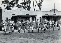 Detroit Tigers spring training in Lakeland in 1937. (The Detroit News)