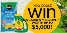 Win A $5000 Garden Makeover *Contest Closes on May 3* http://free.ca/contests/5k-garden-makeover/
