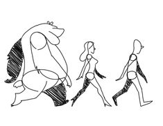 walk on Spookyspoots man woman bear sketch animation walking walk cycle drawing Animation Walk Cycle, Walking Animation, Learn Animation, Animation Reference, Gif Animé, Animated Gif, Walk Cycle Reference, Bear Sketch, Character Art