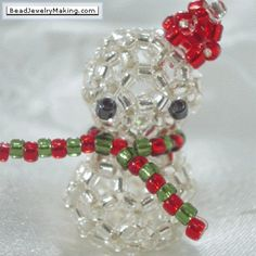 Find some great ideas on how to make your own beaded gifts and DIY Christmas Decoration this upcoming Christmas Holiday! Also includes free projects of step by step beadwork ideas!  http://www.beadjewelrymaking.com/christmas_specials.html  ...