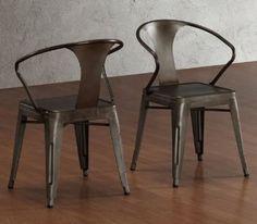 Amazon.com   Vintage Tabouret Stacking Chair (Set Of 4), Steel,