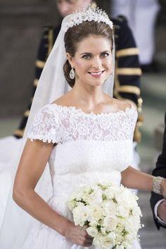 Abiti da sposa più belli dei reali - La Principessa Maddalena di Svezia Fotogallery Donnaclick