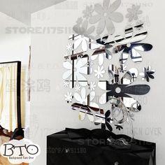 P es 1000 n pad na t ma stickers miroir na pinterestu miroir adh sif veil - Stickers pour plafond ...