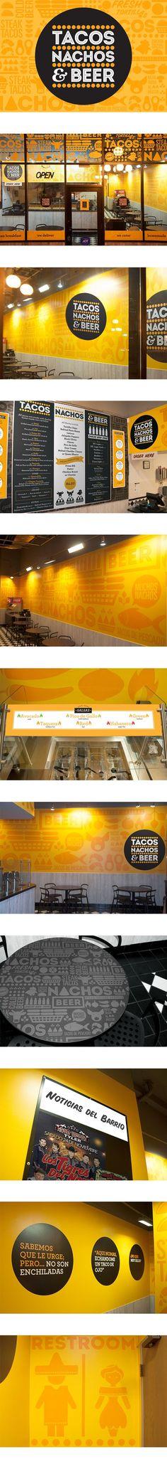 Tacos Nachos and Beer Restaurant Branding on Behance | Fivestar Branding – Design and Branding Agency & Inspiration Gallery