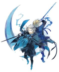 Elliot Nightray and Oz Vessalius~ Pandora Hearts : Original Artwork Pandora Bracelets, Pandora Jewelry, Pandora Charms, Wrap Bracelets, Manga Art, Manga Anime, Anime Art, Vanitas, D Gray Man Anime