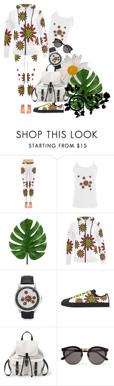 """Flower Power"" by andersonartstudio on Polyvore featuring Steve Madden and Illesteva"