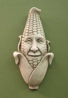 1173 Aw Shucks #carruth #sale #special #corn #face #shuck #kernels #plaque…