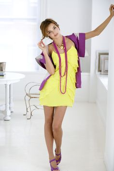 ready for summer yellow dress