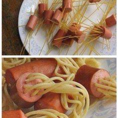 A fun dinner idea for the kids!