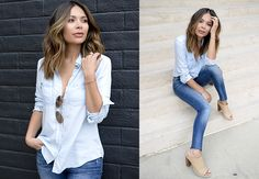 Dressing Up Denim— It's All in the Details - Life With Me by Marianna Hewitt