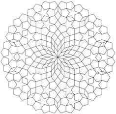 Mandala Rosette 4 Katja Marek Millefiore Quilt Along