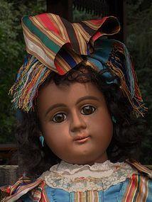 Rare German Bisque Brown-Complexioned Child from ~ WHEN DREAMS COME TRUE ~ found @dollshopsunited http://www.dollshopsunited.com/stores/whendreamscometrue/items/1269481/Rare-German-Bisque-Brown-Complexioned-Child #dollshopsunited