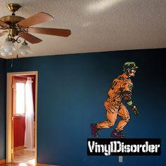 Baseball Wall Decal - Vinyl Sticker - Car Sticker - Die Cut Sticker - CDScolor142