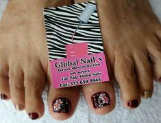 Nails, Nail Manicure, Roses, Finger Nails, Ongles, Nail