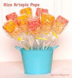 Rice Krispie Pops