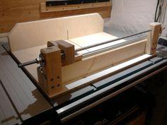 schiebeschlitten f r die tischkreiss ge xxxx pinterest tischkreiss ge werkstatt und. Black Bedroom Furniture Sets. Home Design Ideas