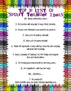 Making It As A Middle School Teacher: Top 10 Smart Teacher Ideas