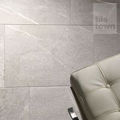 Repton Gris Floor Tiles by Azulindus & Martí (tile factory) supplied by Tile Town. Discounted Concrete Effect Floor Tiles.