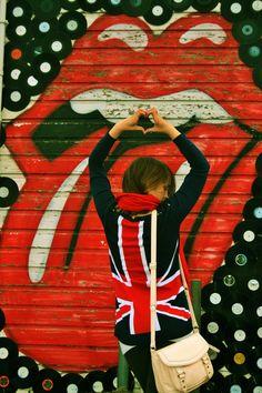 love british punk rock style