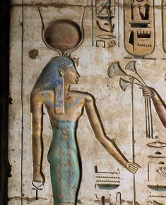 ancient-egypts-secrets: Egypt, Medinet Habu, Temple of Ramesses III Goddess Hathor by Amenhotep Iii, Egyptian Pharaohs, Egyptian Art, Ancient Egypt Art, Ancient History, Empire Romain, Art Ancien, Gods And Goddesses, Ancient Civilizations