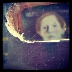 Peeping art: Helene Schjerfbeck´s painting from the peeping hole