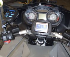 Our customer Rod's #BMW #K1200GT with our #TPXDetector #AdaptivTech