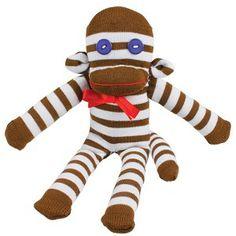 Zelf een een sokpop aap maken. 5+