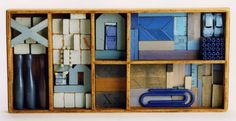 This artist is named LA Wilson. I think this assemblage sculpture is fascinating.