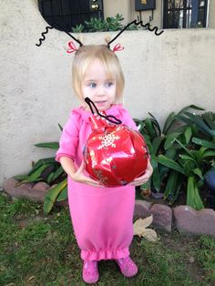 Cindy Lou Who Perfect For My Little Willow More Family Costumes