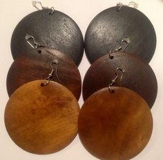 """Must Have"" Wooden Earrings"