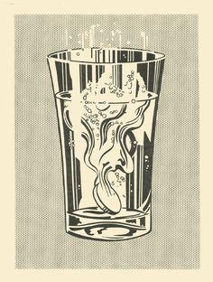 """""""Alka Seltzer"""", 1966 (Roy Lichtenstein – © Estate of Roy Lichtenstein. Art Institute of Chicago, Margaret Fisher Endowment)"""