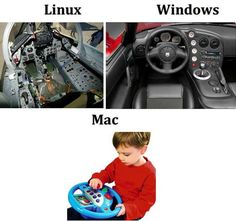 Linux vs Windows vs Mac...which one do you use?